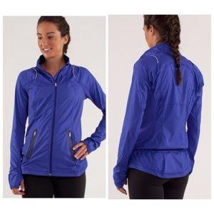 Lululemon | Nothin' But Run Jacket Pigment Blue